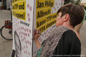 Klare Botschaft an die EU-Abgeordneten aus Hamburg: Sie können TTIP und CETA stoppen!